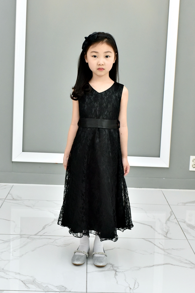 JDM19114/Lace Vintage Dresses/Black